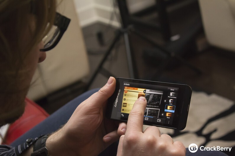 Making movie magic with the BlackBerry Story Maker