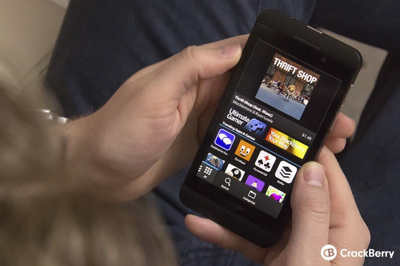 BlackBerry World on the Z10