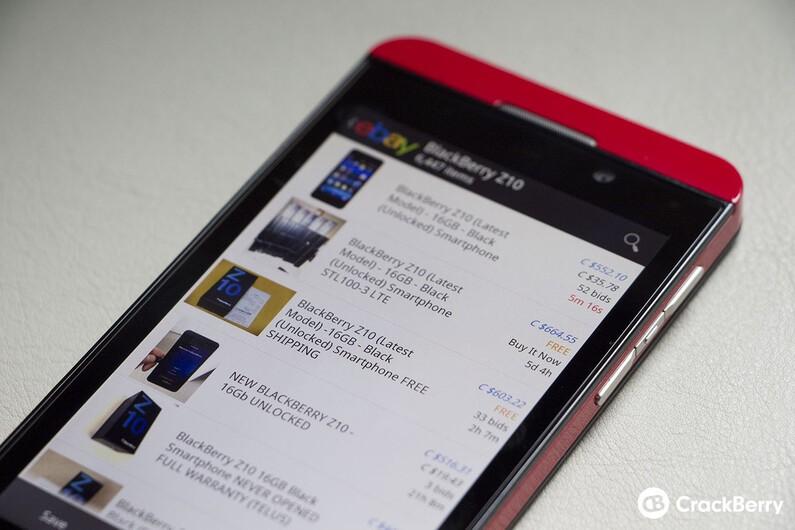 eBay for BlackBerry 10
