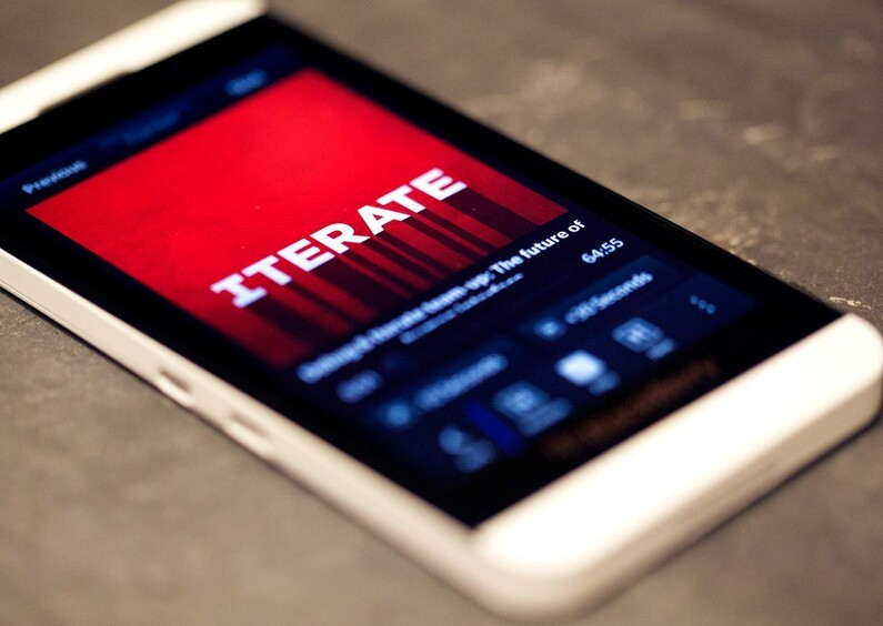 Iterate: Talking CrackBerry 10 Design