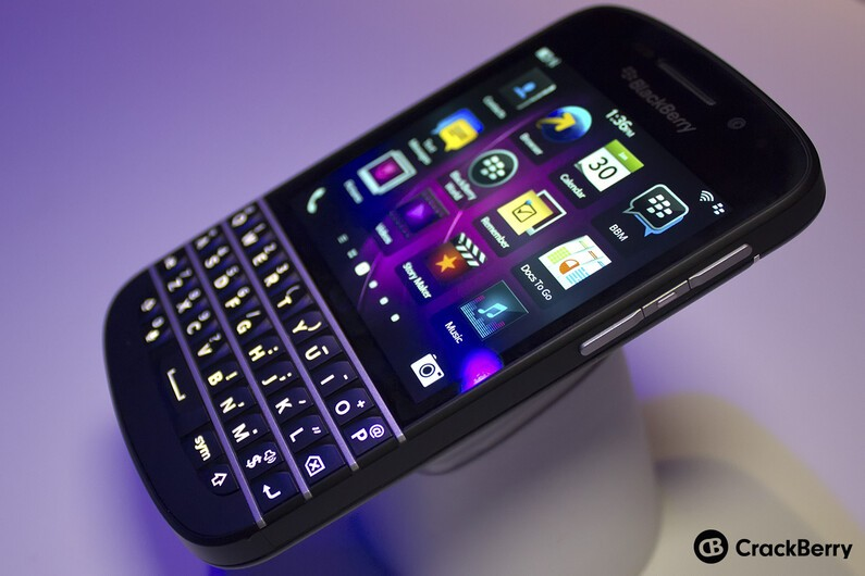 Win a FREE BlackBerry Q10 from CrackBerry.com!