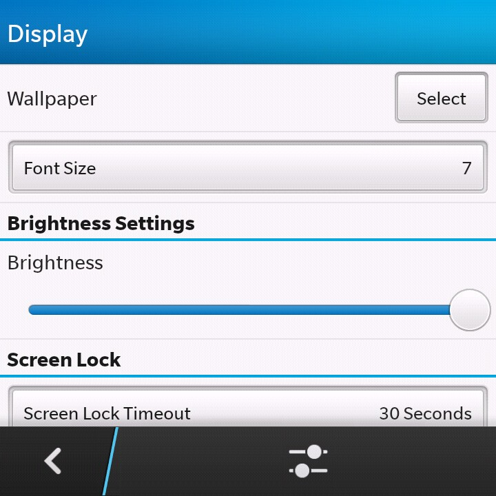BlackBerry Q10 setup