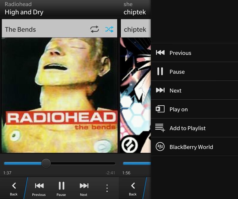 Music for BlackBerry 10