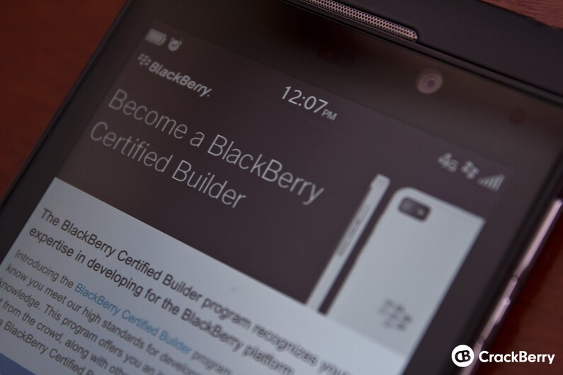 BlackBerry Builder