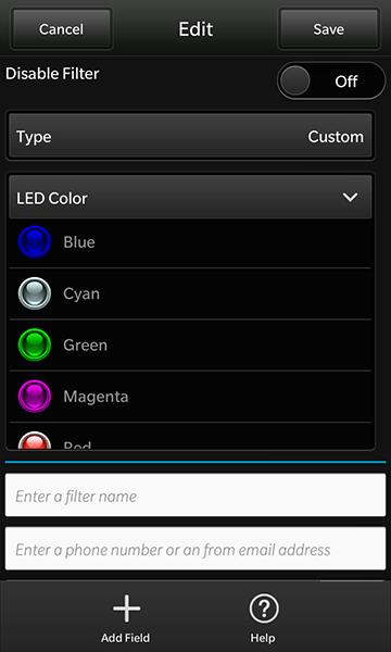 Color LED colors
