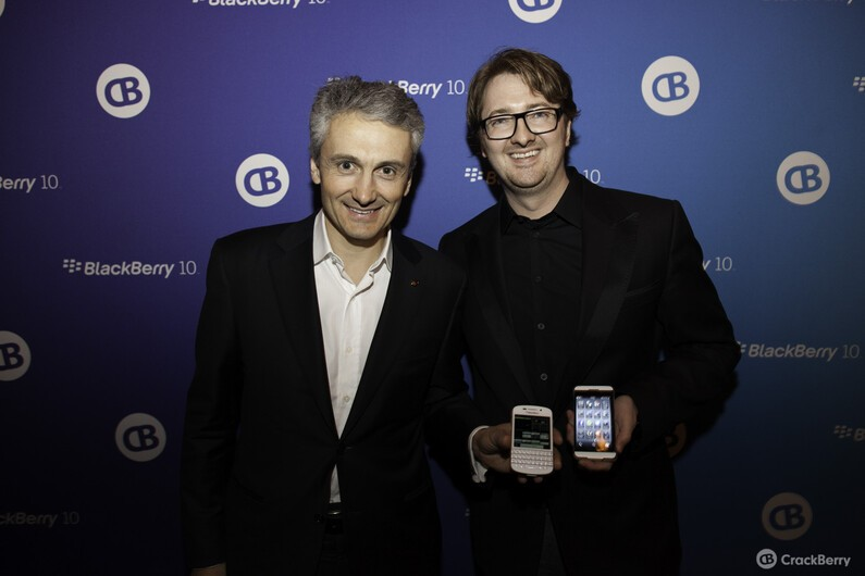 Frank Boulben, Chief Marketing Officer of BlackBerry dropped by