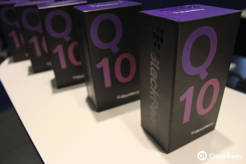 BlackBerry Q10 line up!