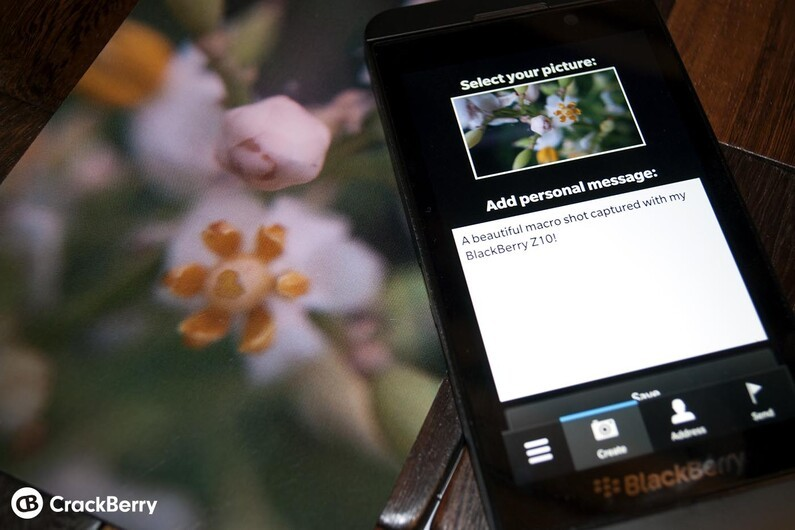 Postcard for BlackBerry 10