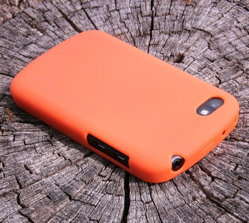 CrackBerry Orange Crunk Case