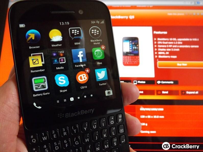 The BlackBerry Q5 goes on sale in Saudi Arabia