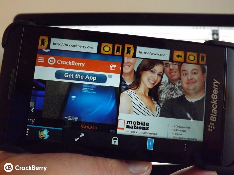Web Splitter for BlackBerry 10 goes on sale