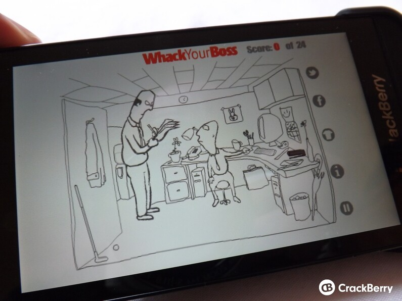 Whack Your Boss for BlackBerry 10