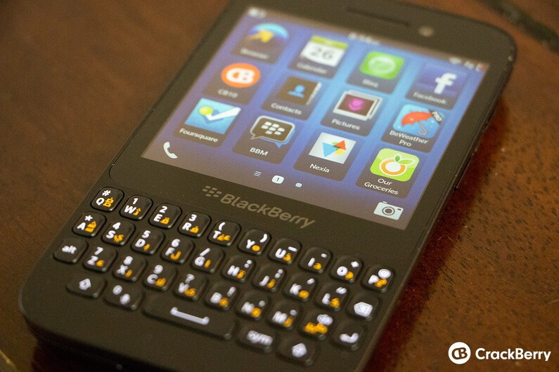 The BlackBerry Q5 is a few weeks off of its initial release and will ...