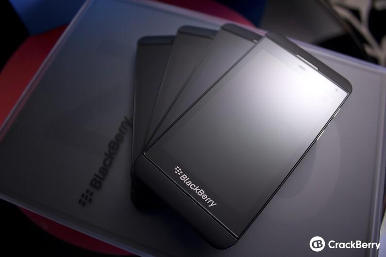 Pile of BlackBerry Z10s