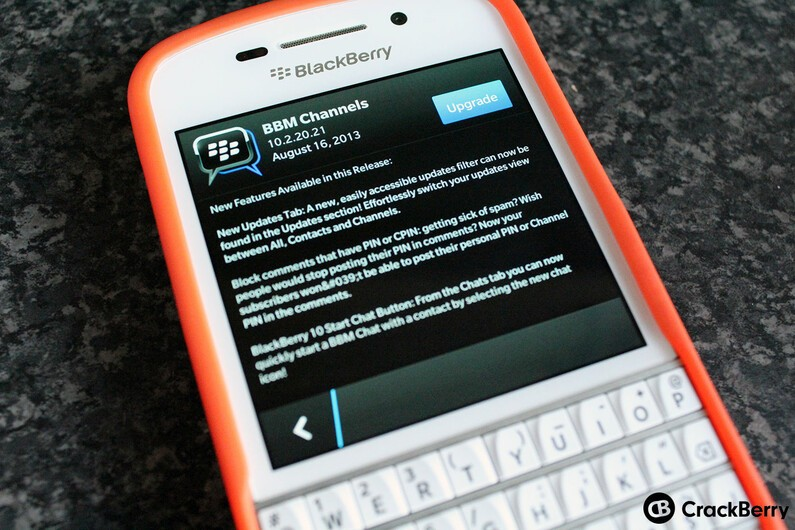 BBM Channels updated, brings the ability to block comments with PINs