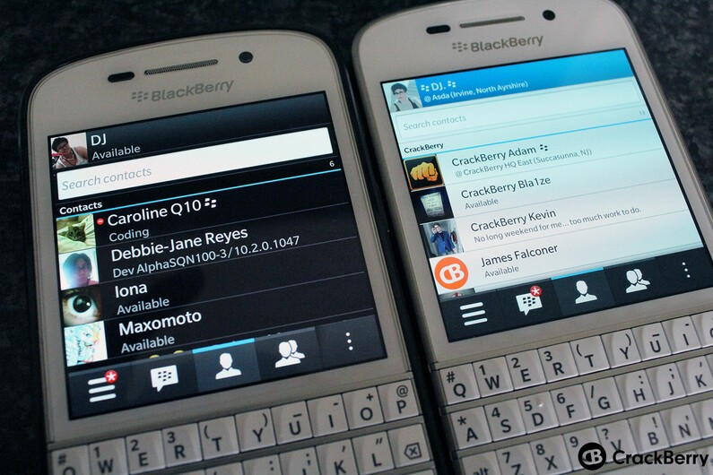 Do you want the dark theme back on the Q10?
