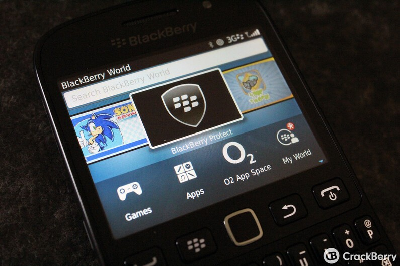 BlackBerry World on BlackBerry OS