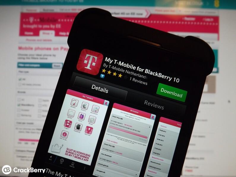 T-Mobile Netherlands App
