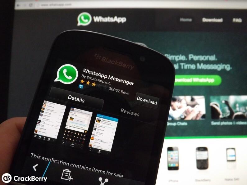 cracked whatsapp for blackberry