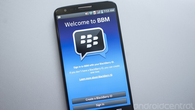 how to use bbm for android crackberry