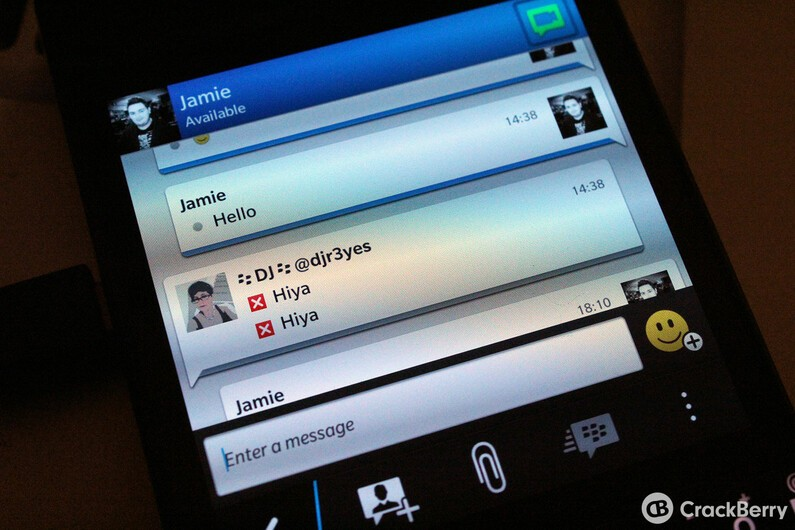 You may have trouble messaging those on BBM for Android and iOS if you have BBM Channels beta installed