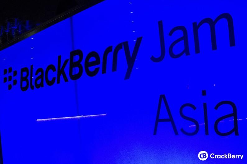 BlackBerry Jam Asia
