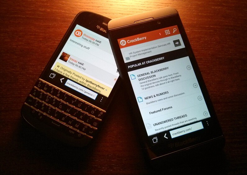 Introducing the CrackBerry Mobile Forums Theme!