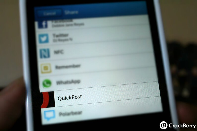 New update to QuickPost brings cool features