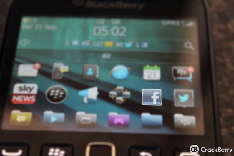 Facebook for BlackBerry OS updated in BlackBerry Beta Zone