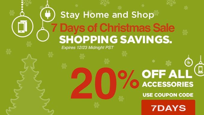 7 Days of Christmas Sale!