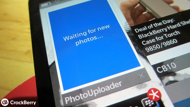Upload photos directly to Dropbox with PhotoUploader