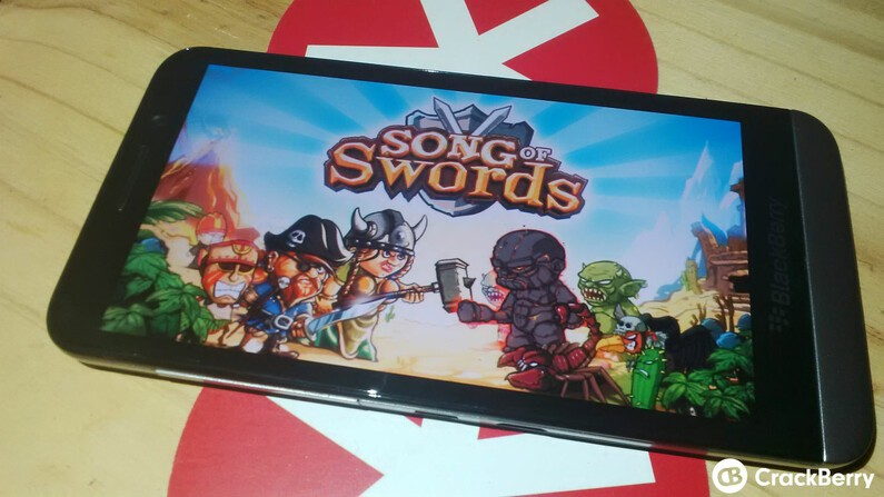 Have you checked out Song of Swords for BlackBerry 10 yet?