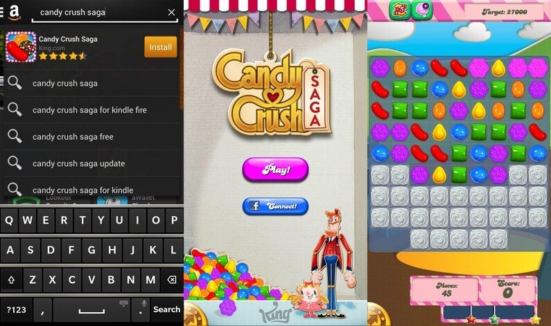Candy Crush Saga on BlackBerry 10