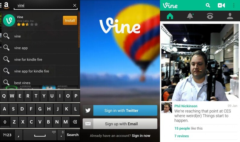 Vine for BlackBerry
