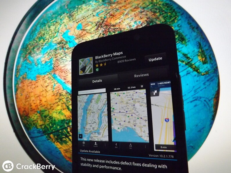 BlackBerry Maps