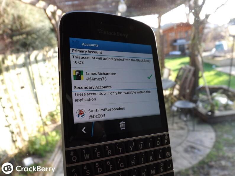 Twitter BlackBerry 10