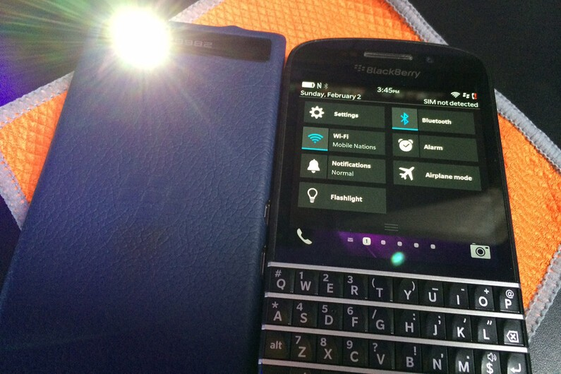 BlackBerry Q10 Flashlight Tip
