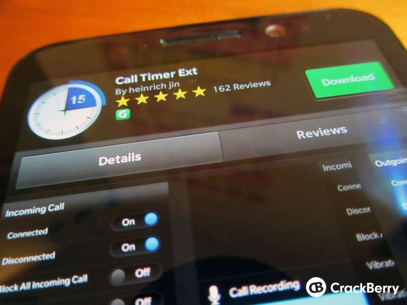 Call Timer Ext