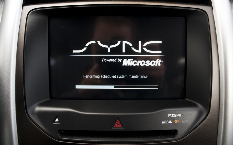 future ford sync units to be powered by blackberry 39 s qnx not microsoft. Black Bedroom Furniture Sets. Home Design Ideas