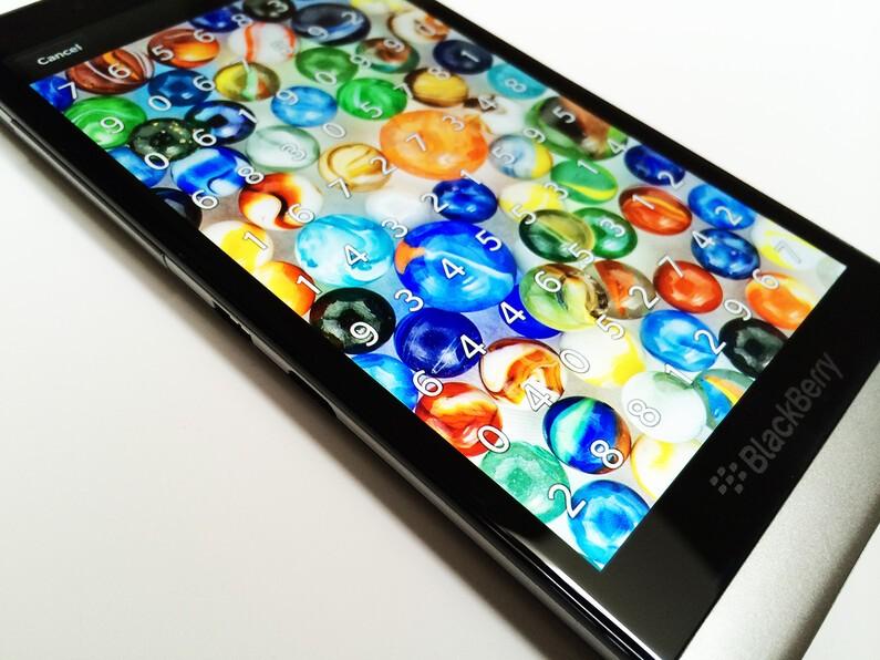 BlackBerry 10 Picture Lock