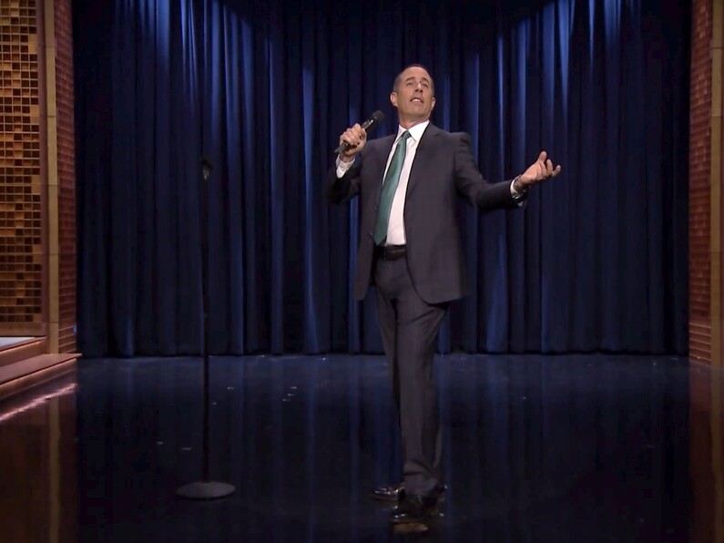 "Seinfeld on smartphones and texting: ""I could have called you and I chose not to."""