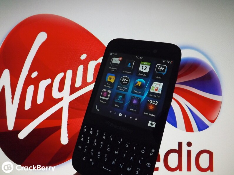 Virgin Media BlackBerry Q5