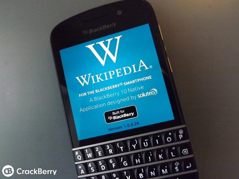 Wikipedia BlackBerry 10