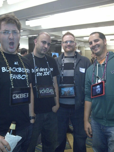 CrackBerry Kevin, Shao128, Ryan Blundell, Adam Zeis @ DevCon