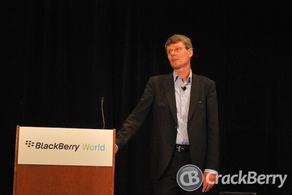 Thorsten Heins at BlackBerry World