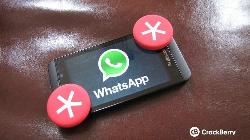 WhatsApp for BlackBerry 10 coming next week