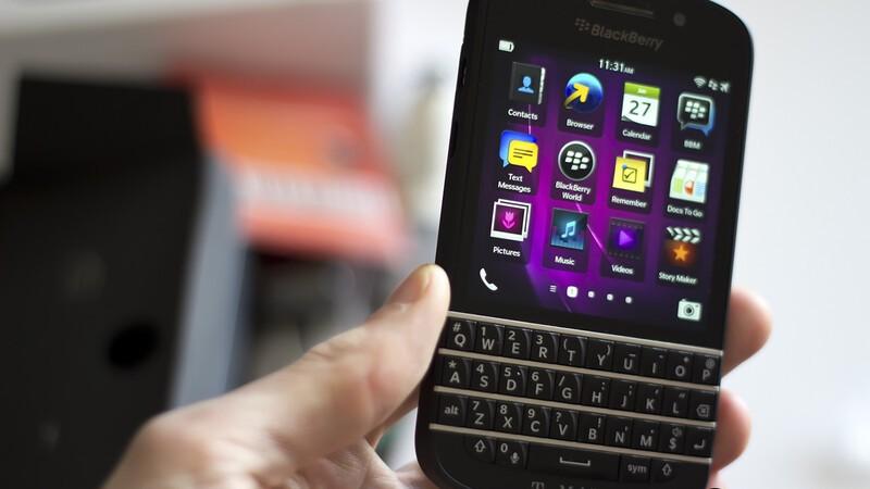 T-Mobile BlackBerry Q10