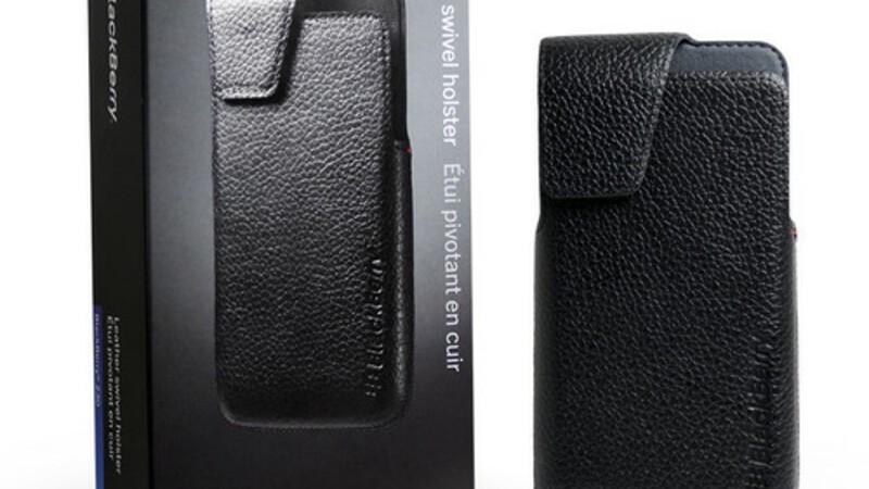 BlackBerry Z30 leather holster turns up on eBay