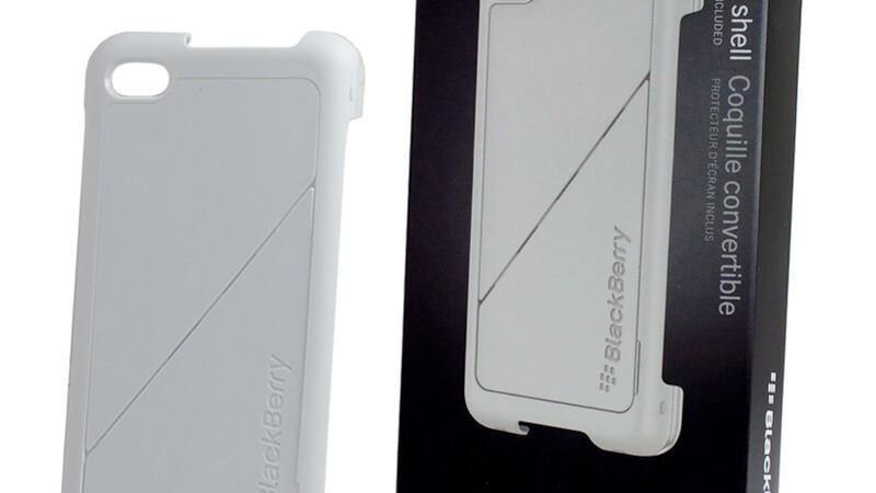 BlackBerry Z30 Transform Shell Hard Case and Leather Pocket Pouch hit eBay