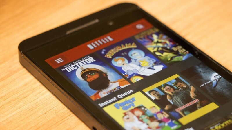 How to install Netflix on BlackBerry